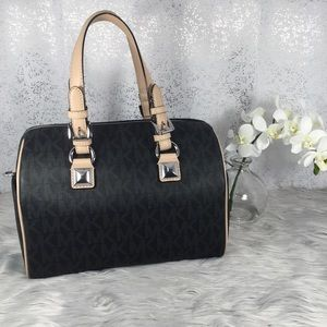 🆕 Michael Kors Black Grayson Satchel
